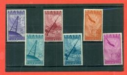 AEREA-RADIO- NUOVI -GOMMA INTEGRA - 1947- BUONA QUALITA' - PREZZO DA SALDO - 6. 1946-.. Republic