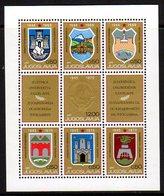 YUGOSLAVIA 1970 25th Anniversary Of Liberation Block Without Serial Number MNH / **.  Michel Block 16 - Blocks & Sheetlets