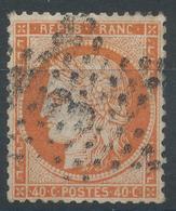 Lot N°47003  N°38, Oblit étoie Chiffrée 3 De PARIS (Pl De La Madeleine) - 1870 Siege Of Paris
