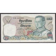 TWN - THAILAND 88q - 20 Baht 1981 Prefix 3 E UNC - Tailandia