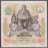 TWN - THAILAND 93a - 60 Baht 1987 60th Birthday King Rama IX UNC - Tailandia