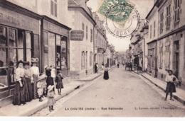 36 - Indre - LA CHATRE - Rue Nationale - Libraire - La Chatre