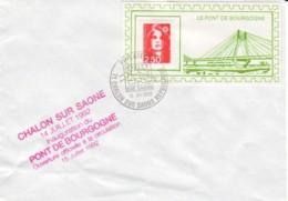 FRANCE : 1992 - Le Pont De Bourgogne - France