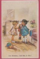 ILLUSTRATEUR-- G-BOURET--Les Hommes C'est Bon A Rien ! - Bouret, Germaine