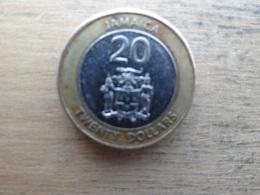 Jamaique  20  Dollars  2008  Km !!!! - Jamaique