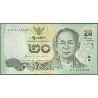 TWN - THAILAND 118a - 20 Baht 2013 Prefix 8 A UNC - Thaïlande