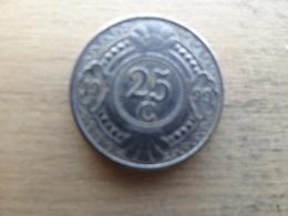 Antilles  Neerlandaises    25  Cents  1999  Km 35 - Antilles Neérlandaises