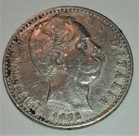 REGNO D'ITALIA 2 LIRE ARGENTO DEL 1883 DEL 1° TIPO UMBERTO I° SPL - 1878-1900 : Umberto I