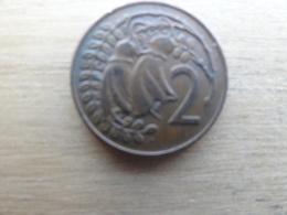 New Zealand  2  Cents  1974  Km 32.1 - Nouvelle-Zélande
