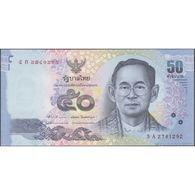 TWN - THAILAND 119a - 50 Baht 2012 Prefix 5 A UNC - Thaïlande