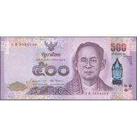 TWN - THAILAND 133 - 500 Baht 2017 Prefix 3 K UNC - Thaïlande