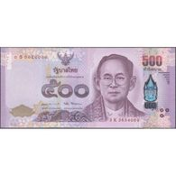 TWN - THAILAND 133 - 500 Baht 2017 Prefix 3 K UNC - Tailandia