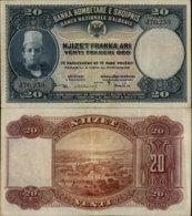 ALBANIA 20 FRANKA ARI ND - Albanie