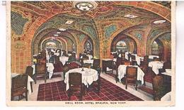 GRILL ROOM  HOTEL  MC ALPIN.   NEW YORK  CITY  TBE     US325 - Cafés, Hôtels & Restaurants