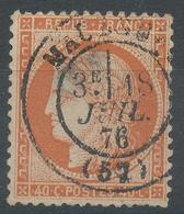 Lot N°47008  Variété/n°38, Oblit Cachet à Date De Maubeuge, Nord (57), Filet SUD - 1870 Assedio Di Parigi