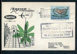 Guatemala / 1968 / SABENA-Erstflugbetrieb (10818) - Guatemala
