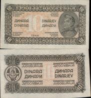 YUGOSLAVIA 10 DINARA 1944 UNC - Yugoslavia