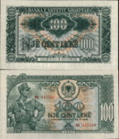 ALBANIA 100 LEKE 1957 UNC - Albania