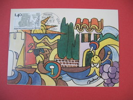 Carte Maximum 1980 N° 2100  Cachet Béziers - Cartes-Maximum