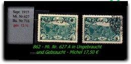 TURKEY ,EARLY OTTOMAN SPECIALIZED FOR SPECIALIST, SEE... Mi. Nr. 627 In Ungebraucht + Gebraucht - Unused Stamps