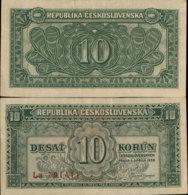 CESKOSLOVENSKA 10 KORUN 1950 - Tchécoslovaquie