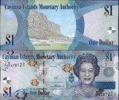 CAYMAN ISLANDS 1 DOLLAR 2014 AUNC - Iles Cayman