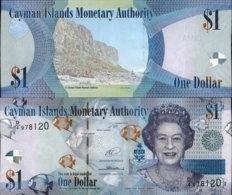 CAYMAN ISLANDS 1 DOLLAR 2014 AUNC - Cayman Islands