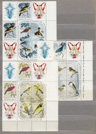 CUBA 1965 Birds Sheets MNH(**) Mi 1088-1102 #24006 - Neufs