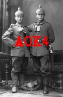 Feldartillerie Regiment 49 FAR Kugelhelm Pickelhaube Luger Pistole 08 Feldgrau Taschenlampe Württemberg Ausmarsch Ulm - Guerre 1914-18