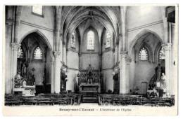 Bruay-sur-l' Escaut  (Nord) Intérieur De L'église - Bruay Sur Escaut
