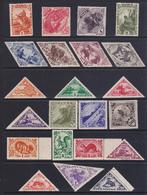 > Touva  1934-1935  3 Serie Cpl +1 Di P.A. Yv.  39 Al 63 P.A. 1-9  MNH ** - Touva