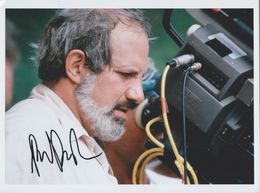 BRIAN DE PALMA  AUTOGRAPHE / AUTOGRAMM  In Person Signed Glossy Photo 20/27 Cm   *HOLLYWOOD* - Autographes