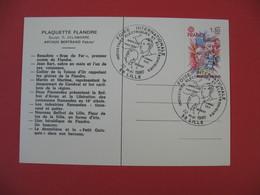 Carte  1980 Foire Internationale Industries Electriques Et Electroniques - Marconi Branly Lille - Expositions
