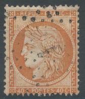 Lot N°47014  N°38, Oblit étoile Chiffrée 11 De PARIS (R.St Honoré) - 1870 Siege Of Paris