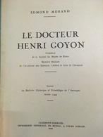 - Docteur Henri Goyon - Musée De Riom - Edmond Morand - Auvergne - 1944 - - Auvergne