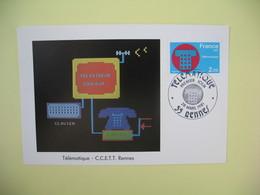 Carte Maximum 1981 N° 2130  Cachet Rennes - Cartes-Maximum