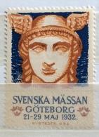 SVENSKA MÄSSAN GÖTEBORG  MAGGIO GIUGNO  1932 - Erinnophilie