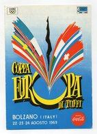 Bolzano - 1969 - Cartolina Coppa Europa Di Tuffi - Con Doppio Annullo Filatelico - (FDC14572) - Bolzano (Bozen)