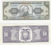 Ecuador  P. 123Ab 20.08.1993 WF 17744847 UNC - Ecuador
