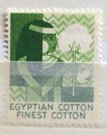 TESSUTI  COTONE EGIZIANO  EGIPTIAN COTTON  FINEST COTTON - Erinnofilia