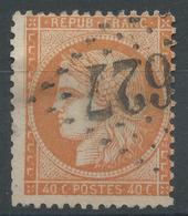 Lot N°47018  Variété/n°38, Oblit GC, Filets EST Et SUD, Fond Ligné - 1870 Siege Of Paris