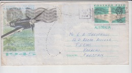 Australia Cover To Pakistan  (A-2201) - 1966-79 Elizabeth II
