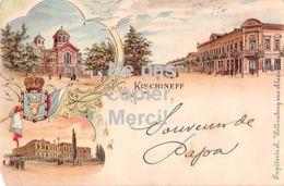 Moldawien - Moldova - Kischineff - Bessarabien - Lithografie - 1901 - Moldavie