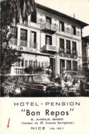 06 ALPES Maritimes Hôtel Pension Bon Repos 5 Avenue Bardi à NICE - Cafés, Hôtels, Restaurants
