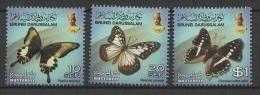 Brunei (2013) - Set - #2  /  Butterflies - Butterfly - Papillon - Mariposas - Vlinders - Vlinders