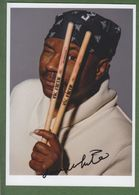 LENNY WHITE  AUTOGRAPH / AUTOGRAMM In Person Signed Glossy Photo 13/18 Cm  *JAZZ* - Autographs