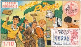 BL 43 A / BILLET  LOTERIE NATIONALE   TRANCHE   DE PAQUES   1977 - Billets De Loterie