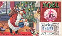 BL 48 / BILLET  LOTERIE NATIONALE  TRANCHE DE NOEL   1976 - Billets De Loterie