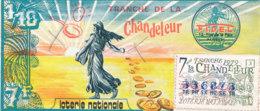 BL 57 / BILLET  LOTERIE NATIONALE   TRANCHE DE LA CHADELEUR  1979 - Billets De Loterie