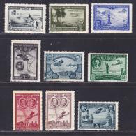 ESPAGNE AERIENS N°   75 à 83 ** MNH Neufs Sans Charnière, Rousseurs (L1238) Clôture De L'Exposition De Séville - 1930 - Unused Stamps